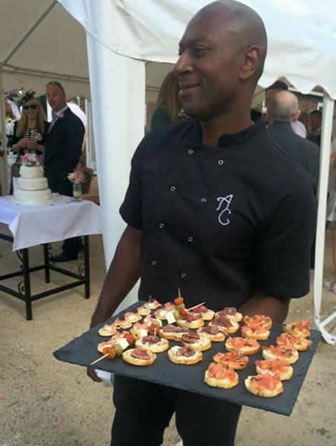 Chef Eddie at Anderson Catering