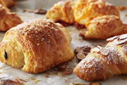 Light Continental breakfast including a selection of Danish Pastries, Croissants and Pain au Chocolat. Prices start from £1.95 per head.